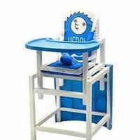 Стул-стол для кормления HEDGY Синий BABYS, фото 1