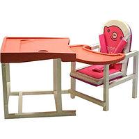 Стул-стол для кормления PIGGY Розовый BABYS, фото 1