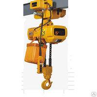 Таль электрическая цепная HHBD-T  2 т 6 м