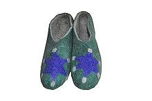 Тапочки-галоши из натурального войлока