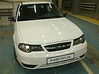 Накладки на фары (реснички) на Daewoo Nexia