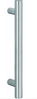 Ручка для стеклянной двери, сталь, матовая, 25х400 мм