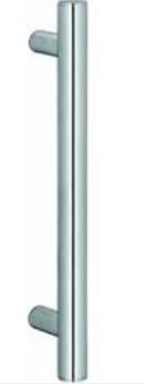 Ручка для стеклянной двери, сталь, матовая, 25х400 мм - фото 1