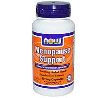 Поддержка в период менопаузы, 90 капсул в растительной оболочке.  Now Foods