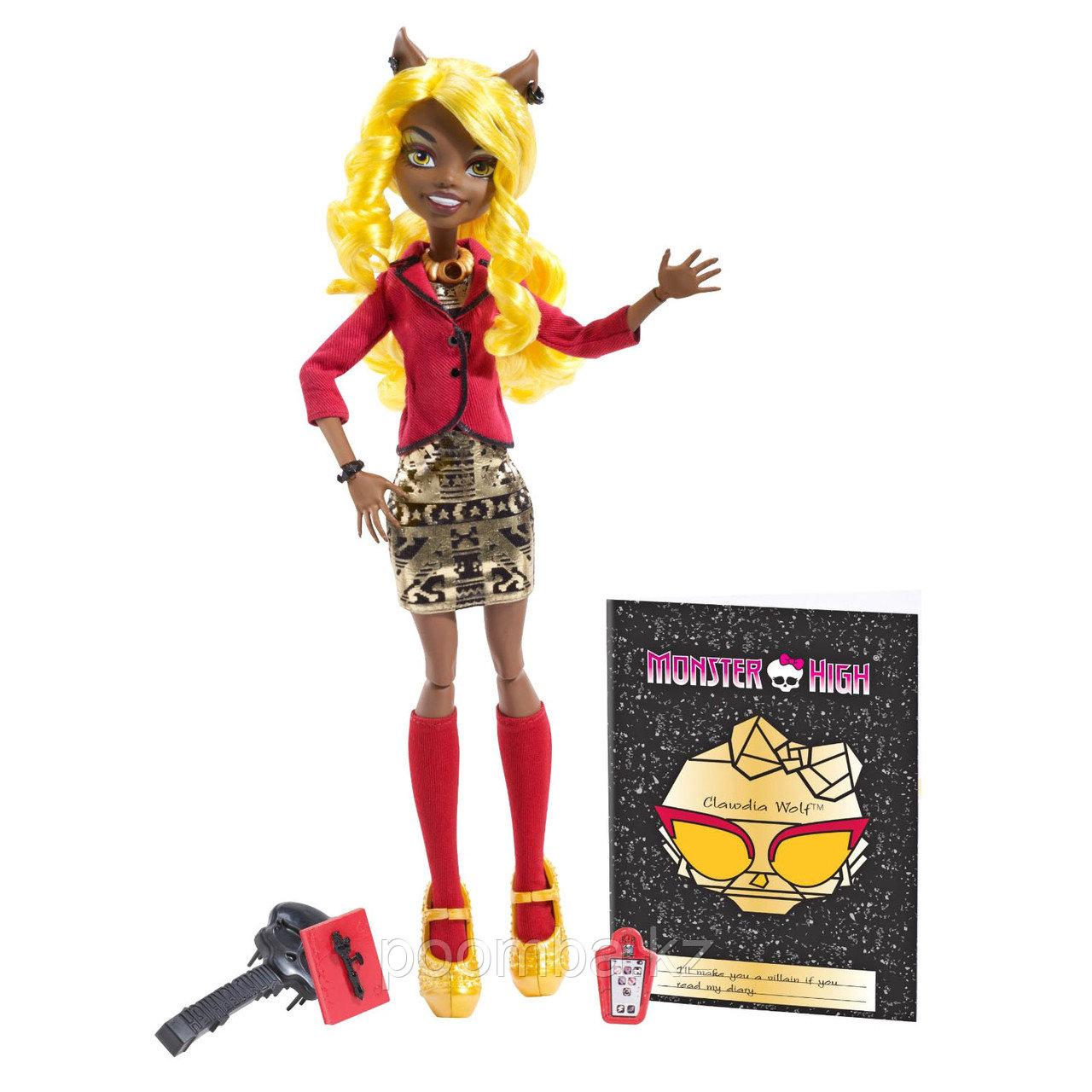 'Клаудиа Вульф' (Clawdia Wolf), серия 'Монстры! Камера! Мотор!', Monster High