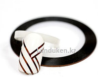 Декоративная самоклеющаяся нить-скотч для дизайна ногтей медь (лента для ногтей), фото 1