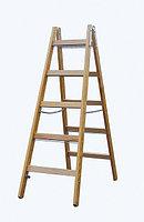 STABILO Двусторонняя лестница из дерева,  2 х 5 перекладин