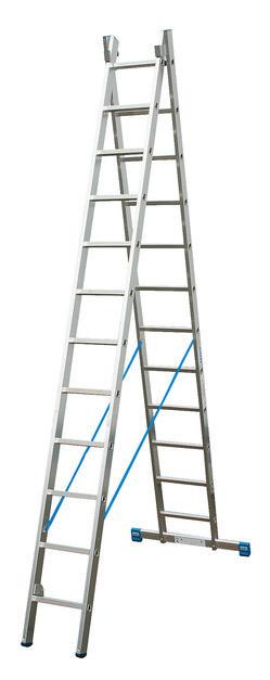 STABILO  Универсальная лестница с перекладинами, двухсекционная