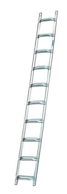 Лестница для крыши из алюминия, 8 перекладин