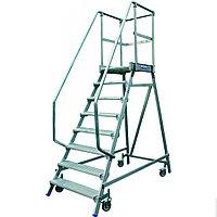 STABILO Лестница - платформа с 8-ю алюм. ступеньками (нов.)