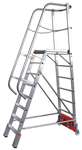 STABILO Лестница с платформой Vario kompakt ступ.8