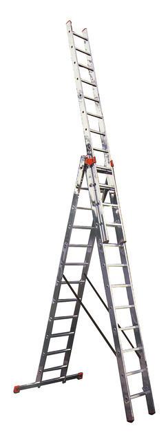TRIBILO Универсальная лестница их трёх частей с доп. функцией, 3 х 12