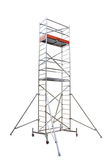 CLIMTEC Передвижные подмости, 1-я надстройка