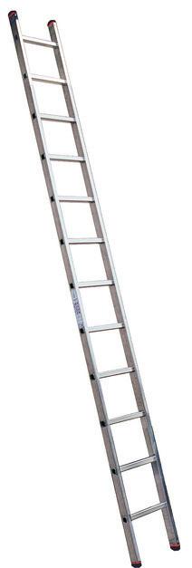 MONTO Односекционная приставная лестница с перекладинами Sibilo®