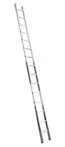 MONTO Односекционная приставная лестница с перекладинами Sibilo® 15 ступенек