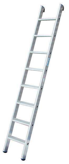 STABILO Односекционная приставная лестница со ступенями
