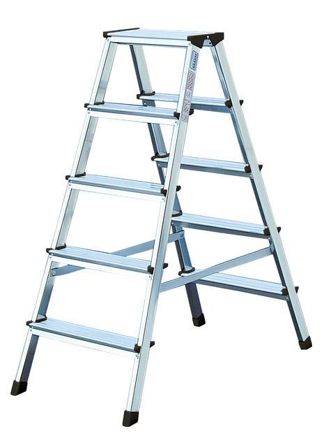 MONTO Лестница-стремянка двухсторон- няя Dopplo®  2 х 4 ступеньки