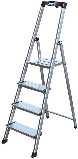 MONTO Лестница-стремянка SePro® S  анодированная