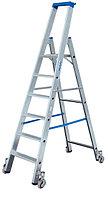 Свободностоящая передвижная лестница-стремянка,  KRAUSE STABILO , 10 ступенек
