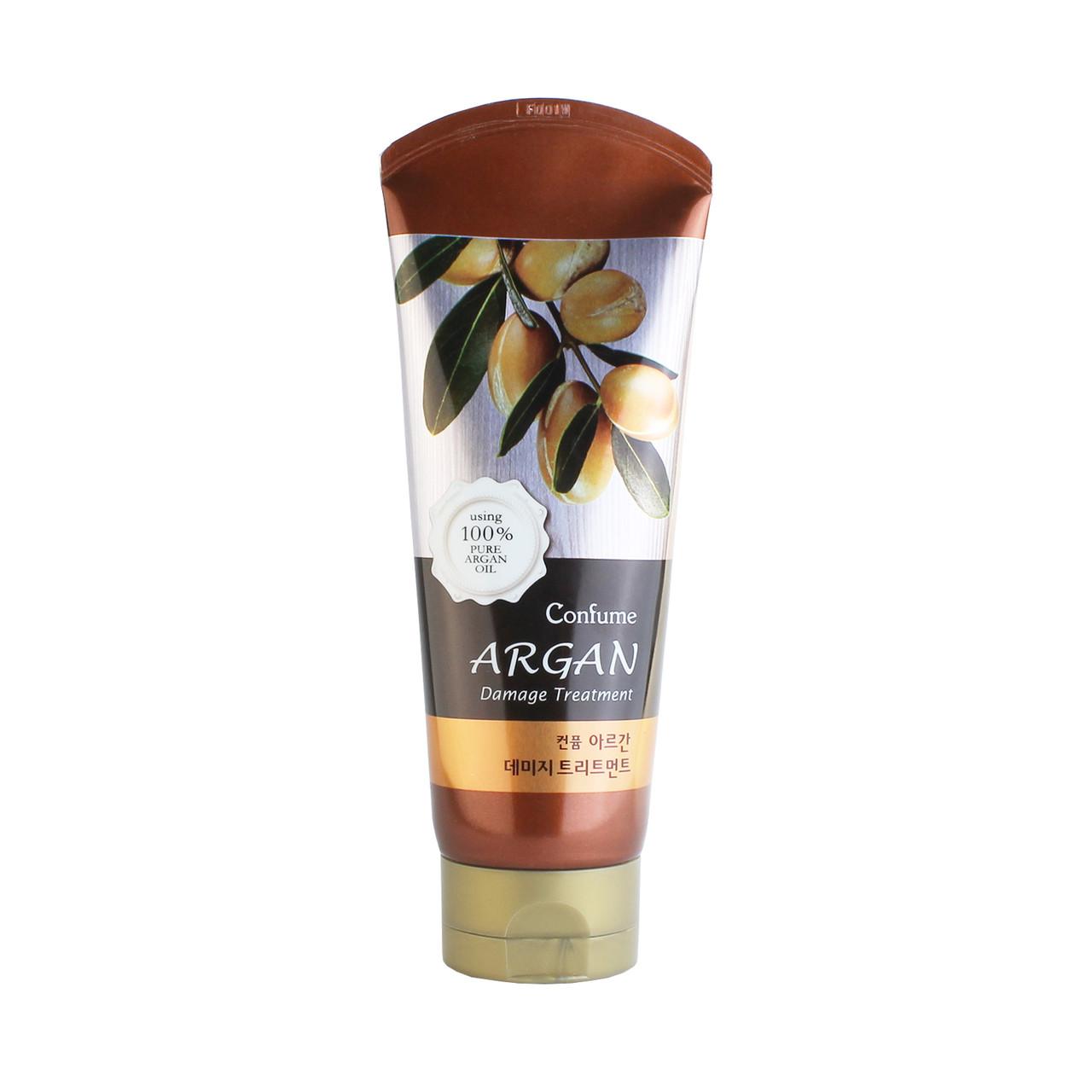 Welcos Confume Argan Damage Treatment Маска для поврежденных волос лечебная на основе арганового масла 200 мл