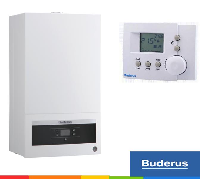 Настенный газовый котёл Buderus: Logamax U072-18K (двухконтурный)