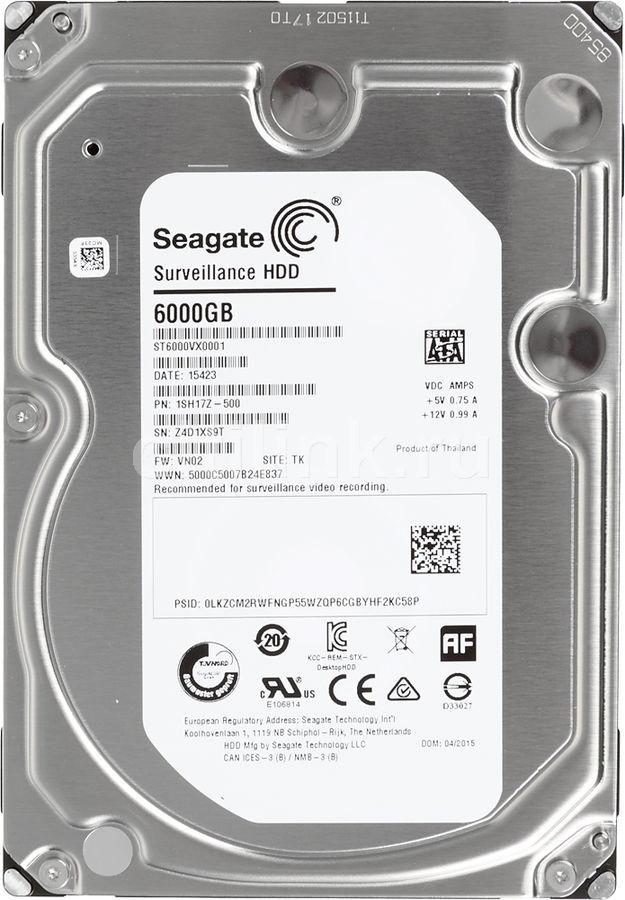 Жесткий диск Seagate SkyHawk 8Тб ST8000VX0022