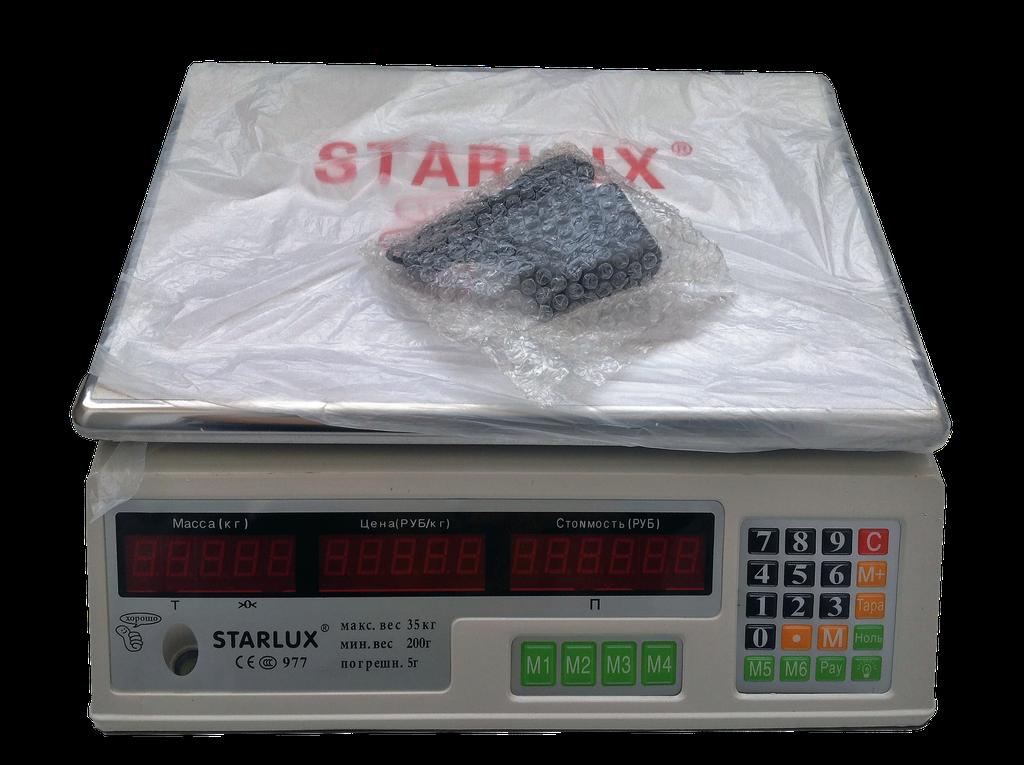 """Весы торговые настольные """"Starlux 975"""" до 25 кг"""