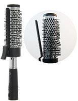 Расческа Брашинг с зажимом круглая для волос (4 см диаметр)