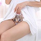 Трусики для женщин с 3D печатью кошки, фото 2