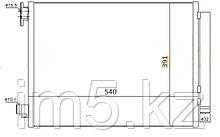 Радиатор кондиционера RENAULT LOGAN 14-