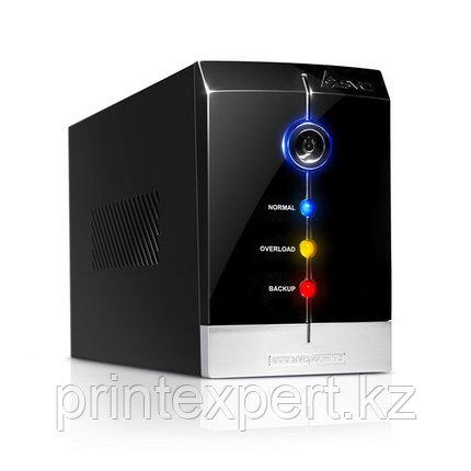 UPS, SVC, V-1200-F, Smart, USB, Диапазон работы AVR: 165-275В, Бат.: 12В/7.5 Ач*2шт., 3 вых.: Shuko CEE7, Защи, фото 2