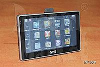 GPS- навигатор HF-501, 5 дюймов, ОЗУ 128 Мб, память 4 Гб, карты, фото 1
