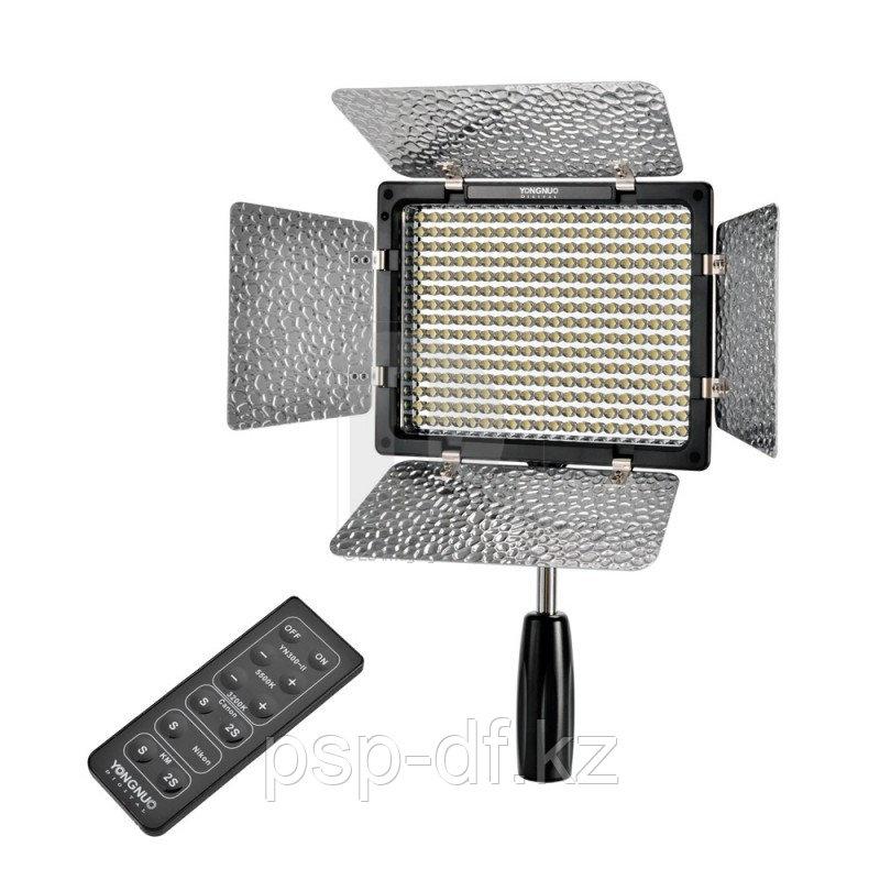 Светодиодная панель на камеру YN-300III в комплекте (аккум. Jupio np-f 750 и зарядник)