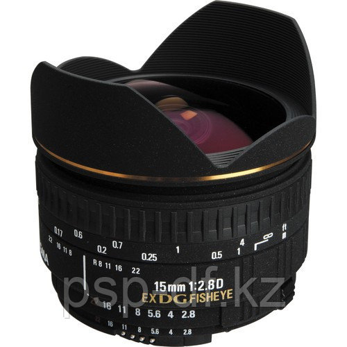 Sigma 15mm f/2.8 EX DG Diagonal Fisheye for Nikon