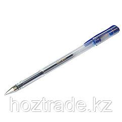 Ручка гелевая синяя 1 мм