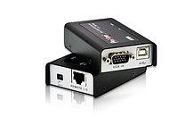 ATEN CE100 КВМ-удлинитель USB,VGA по кабелю Cat 5 (1280x1024@100м)