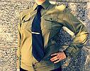Галстук зеленый уставной, фото 2