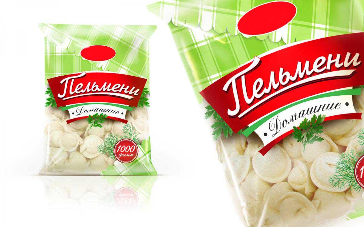 Упаковка для полуфабрикатов и заморозки