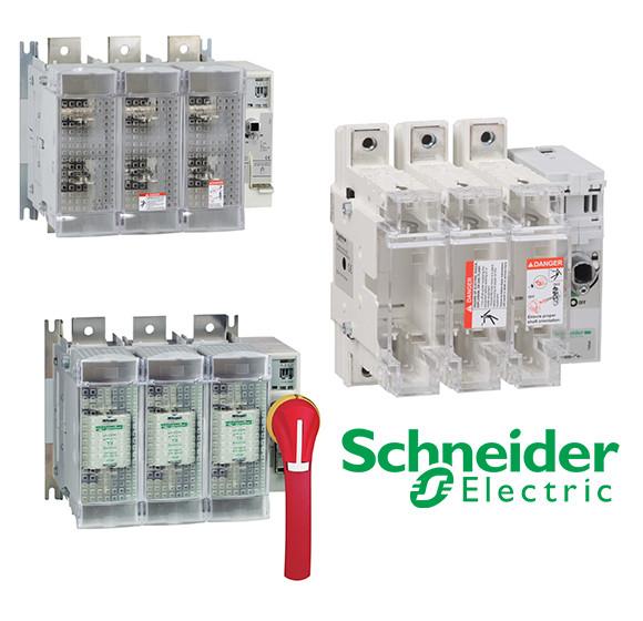 Выключатели-разъединители-предохранители от 32 до 1250А TeSys GS