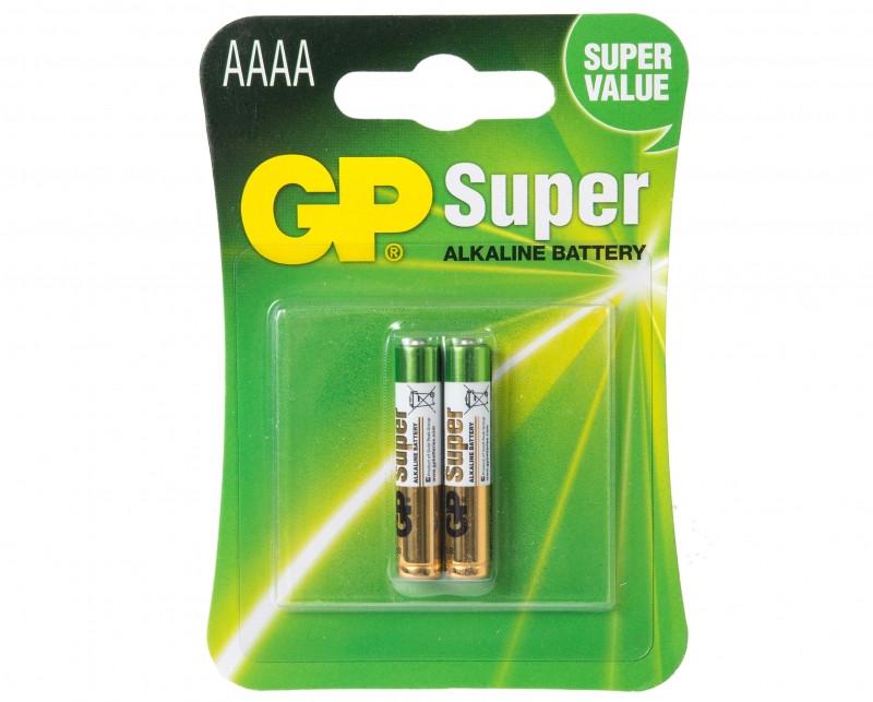 Батарейка GP Super Alkaline 25A-2UE2 (AAAA)