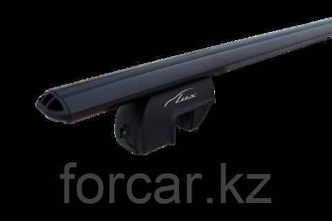 Багажная система LUX РА с дугами 1,2м аэродинамическими черными для а/м с рейлингами, фото 2