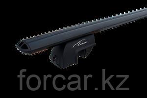 Багажная система LUX РА с дугами 1,2м аэродинамическими черными для а/м с рейлингами