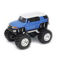 """1/34 Welly """"Big Wheels"""" Toyota FJ Cruiser"""