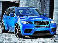 """Карбоновый сплиттер """"M Perfomance Accessories"""" (оригинал) для BMW X5M (E70)"""
