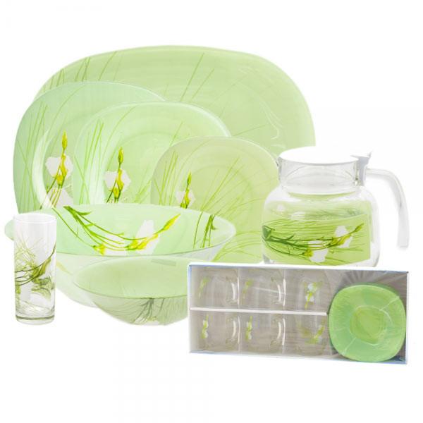 Столовый сервиз Luminarc sofiane green 52 предмета