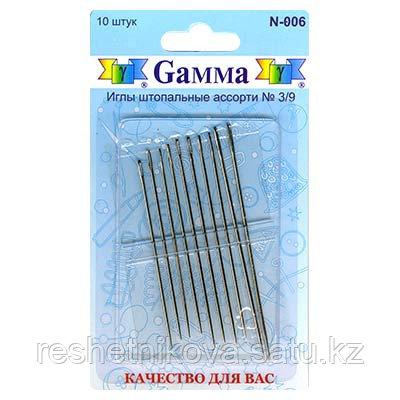 """Gamma"" для штопки №3/9  10 шт"