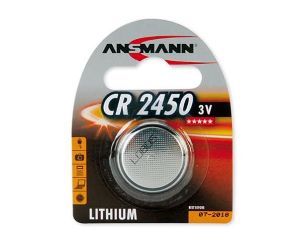 Батарейка ANSMANN CR 2450  3v