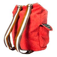 Рюкзак-сумка с аппликацией DANDANTEBU (Красный)