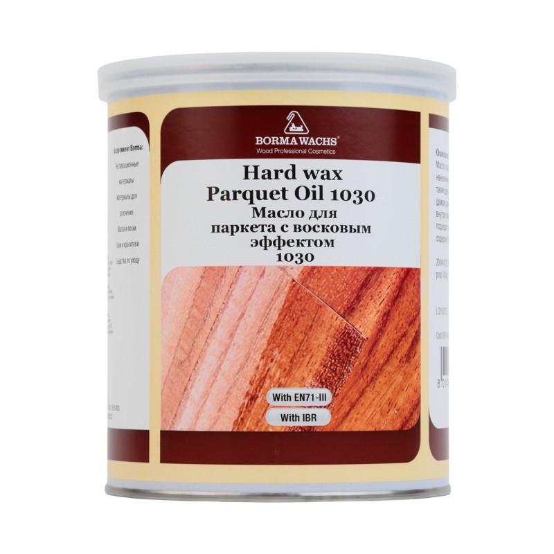 Паркетное масло  с натуральным восковым эффектом HARDWAX PARQUET OIL, 1 л