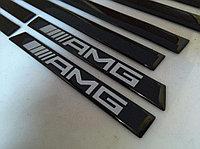 Черный молдинги боковые 463 Edtition AMG для Mercedes Benz G-class, фото 1
